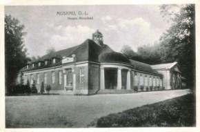 Historische Ansicht des Badehauses um 1920 (c) Freundeskreis Historica Bad Muskau e. V.